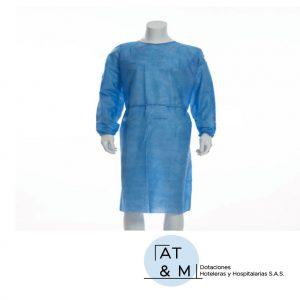 Bata en tela quirúrgica desechable